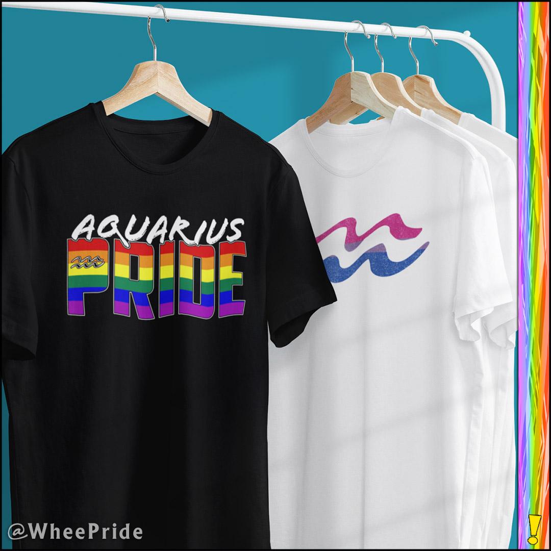 Aquarius T-Shirt Designs